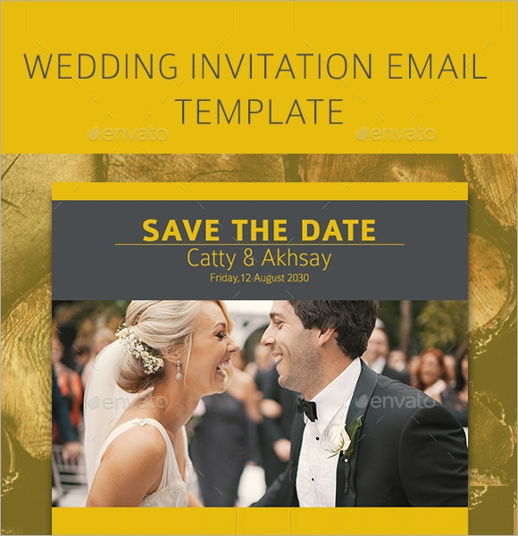 wedding email invitation sample