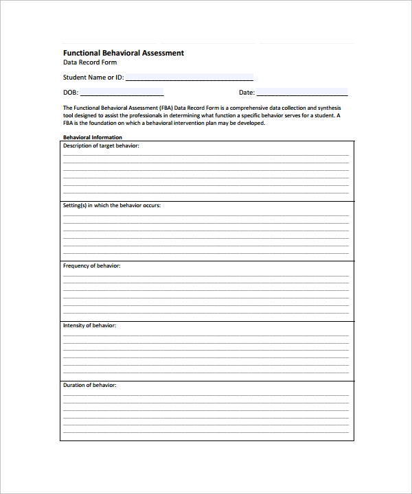 functional behavior assessment template1