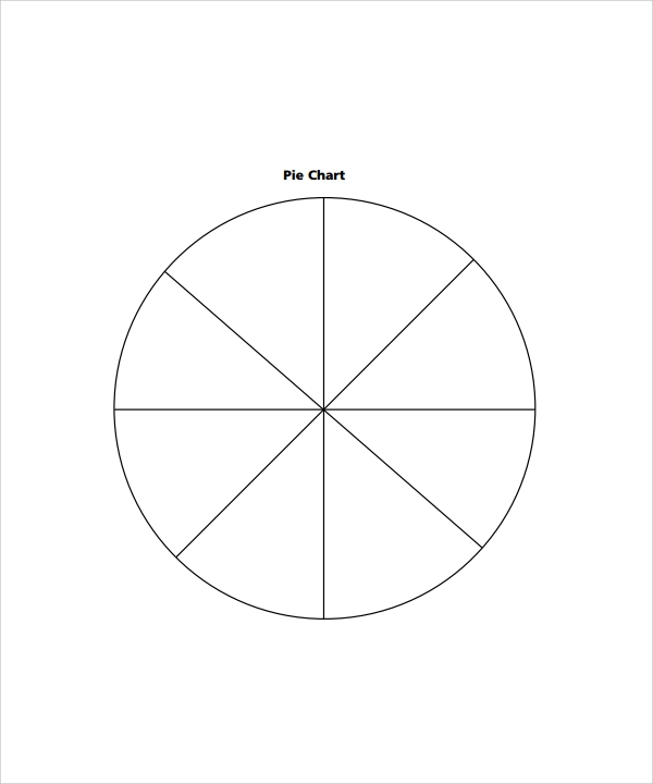 Blank Pie Chart Template  BesikEightyCo