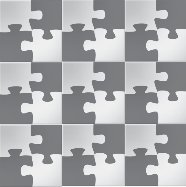 jigsaw blank puzzle