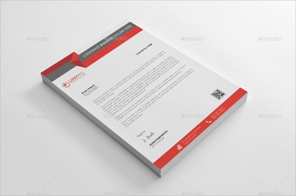 personal letterhead template for personal communications