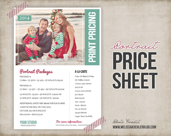 Types Of Sell Sheet Template