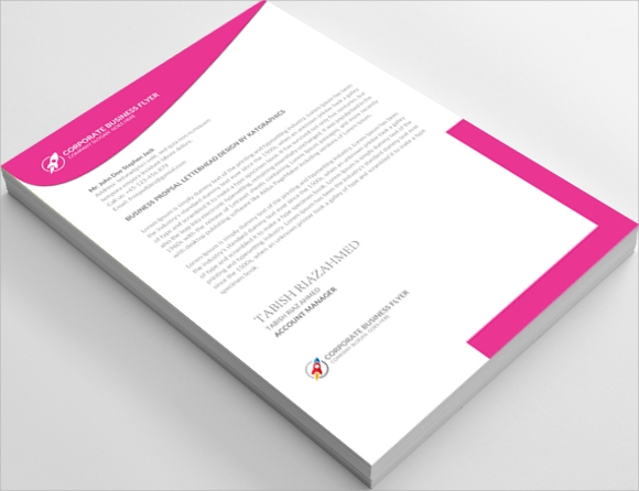 personal family letterhead template