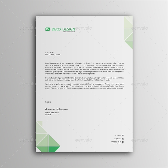 Sample personal letterhead template 9 premium and free download personal letterhead sample spiritdancerdesigns Image collections