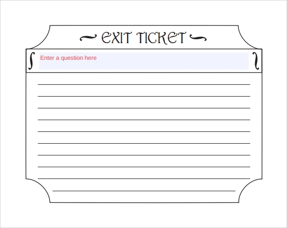 Doc.#644415: Free Ticket Template For Word – Event Ticket Template
