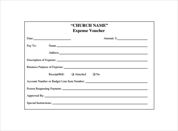 payment voucher form template