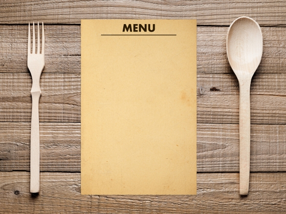 21 blank menus sample templates for Easy menu templates free