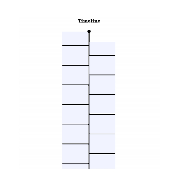 Sample Timeline For Kids