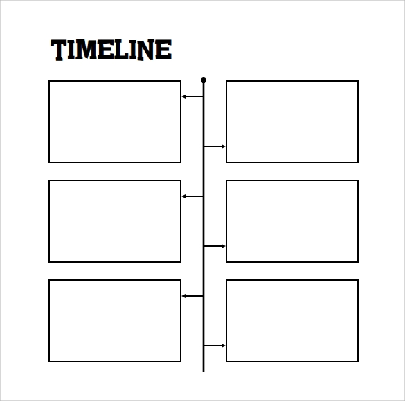 Example Of Timeline Template