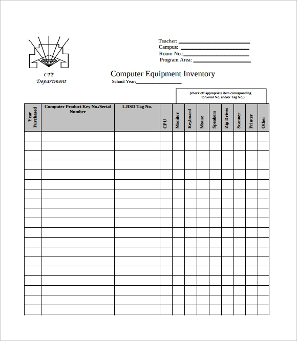 Inventory List Template Home Contents Inventory List Templates Word