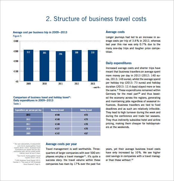Sample Travel Budget Template   Free Documents Download In Pdf