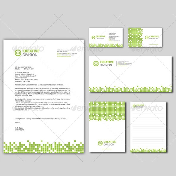 Sample Company Letterhead Template 10 Download in PSD AI – Letterhead Template