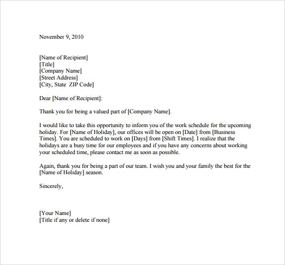 Sample Casual Memo Letter   Documents In   Word