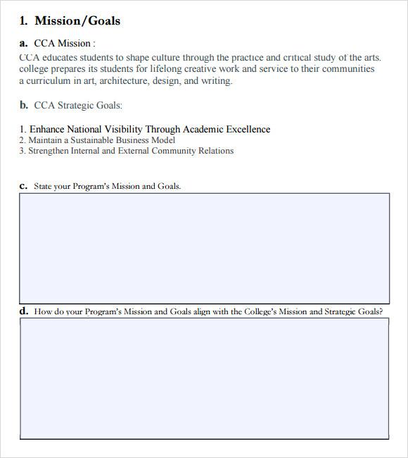 assessment plan outline