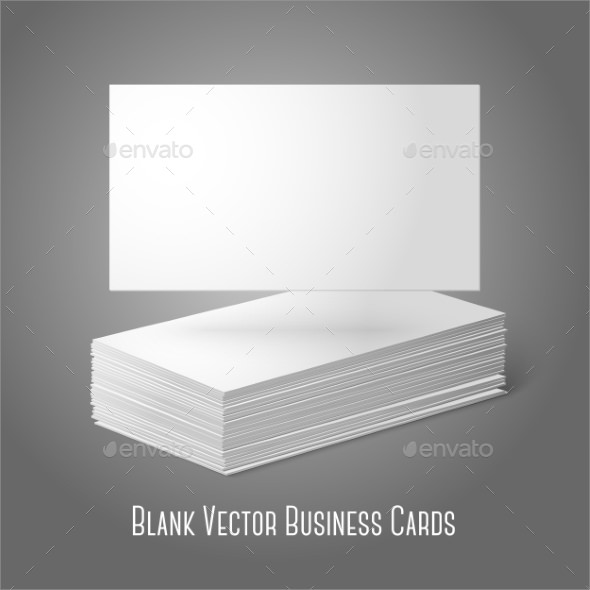 Blank business card template 9 download documents in for Business cards blank