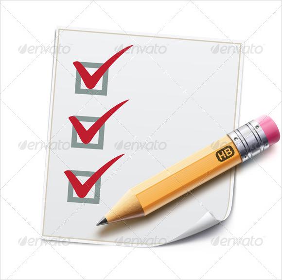 Sample Blank Checklist Template 10 Documents Download in PDF – Blank Checklist Template