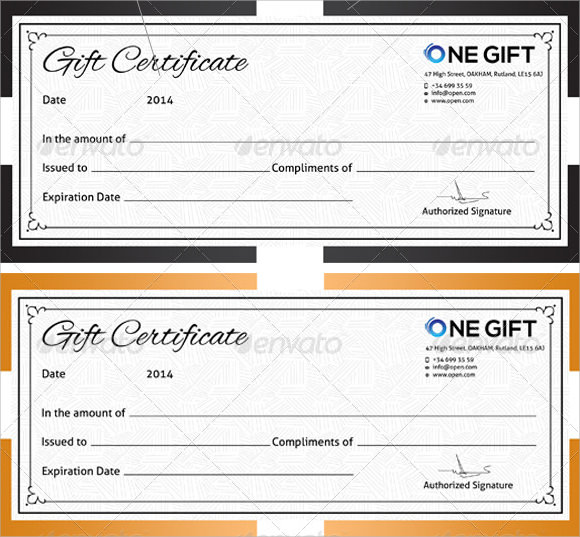 8 sample blank certificate templates to download sample