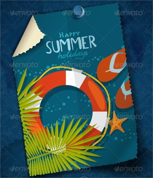 blank greeting card design template