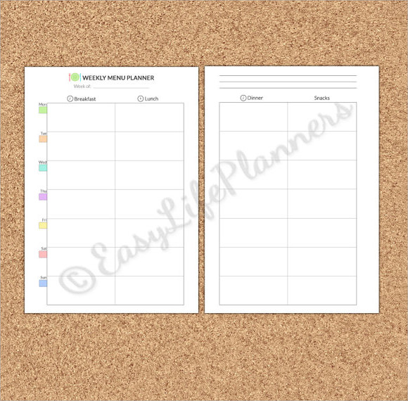 Blank Menu Template - 21+ Download in PDF , PSD , Vector , Excel