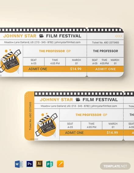 blank movie ticket template2