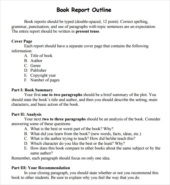Book Report Basic