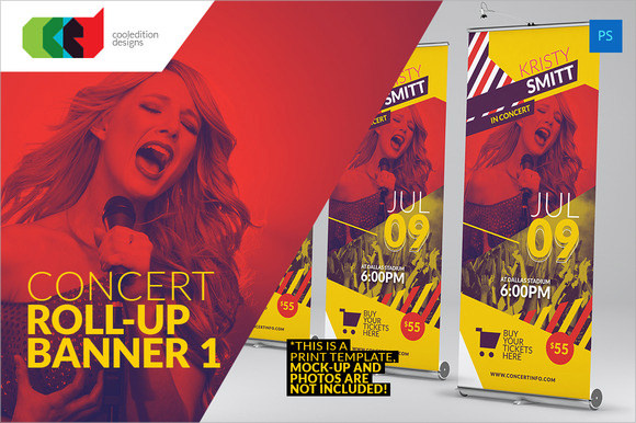 concert ticket template download
