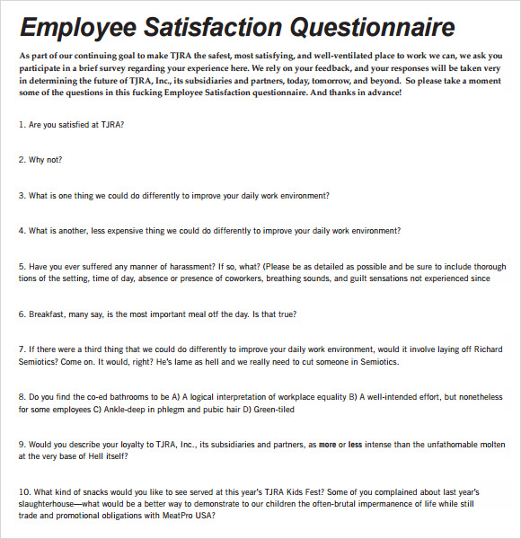 retail questionnaires sample Sample survey questions, answers and tips | page 3 these sample questions are provided to help you determine what you should ask in a survey as well as what ques.