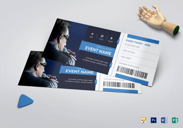 event ticket template2