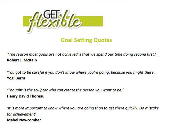 Smart Goal Worksheet Sample
