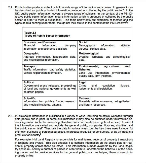 9 sample impact assessment templates sample templates for Itil document templates