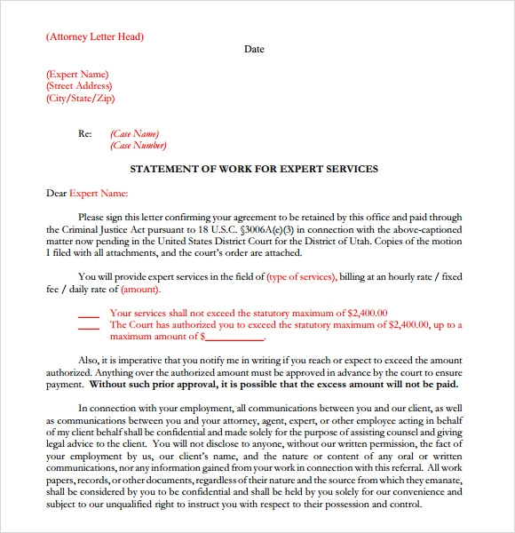 7 sample legal letterhead templates to download