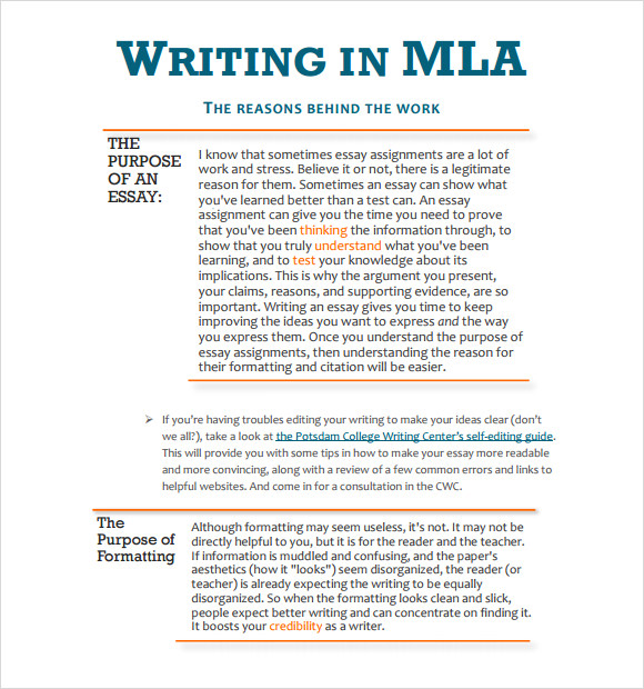 MLA Outline Template   11  Download Free Documents in PDF A9IBJtfI