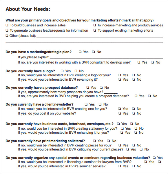 Needs Assessment Needs Assessment Form Template Needs Assessment