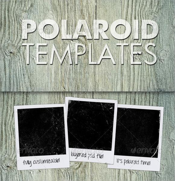 Polaroid Template PSD inTfTZQS