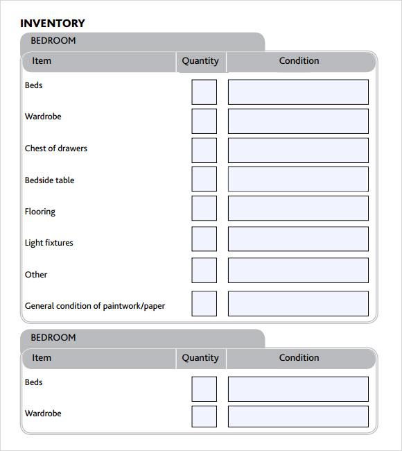 inventory list template - solarfm.tk