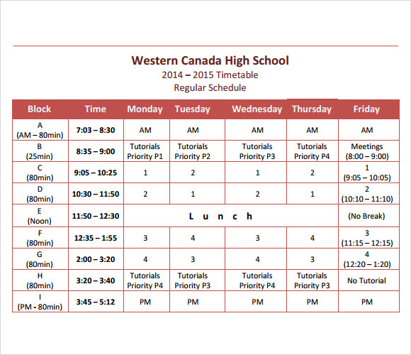 Woodlane high school what about my new timetable?