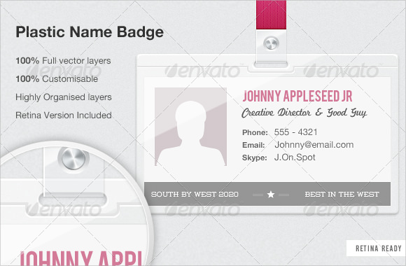 Sample Blank Id Card Template   Download In Psd