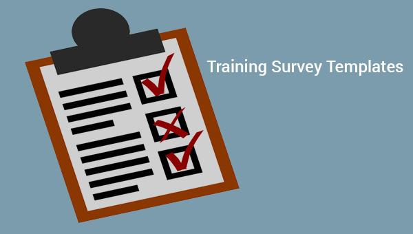 Training Survey Sample