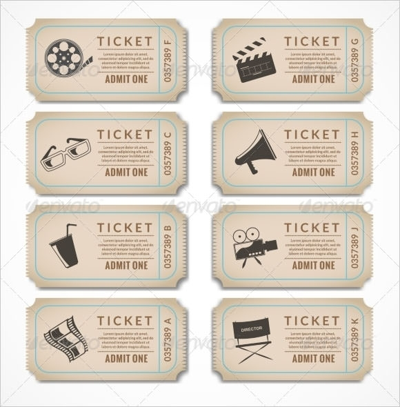 Sample Blank Ticket Template - 7+ Documents in PSD, PDF