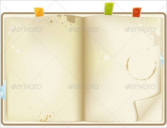 Blank Recipe Book Wise Words Read Fiction NonFiction and – Word Recipe Book Template
