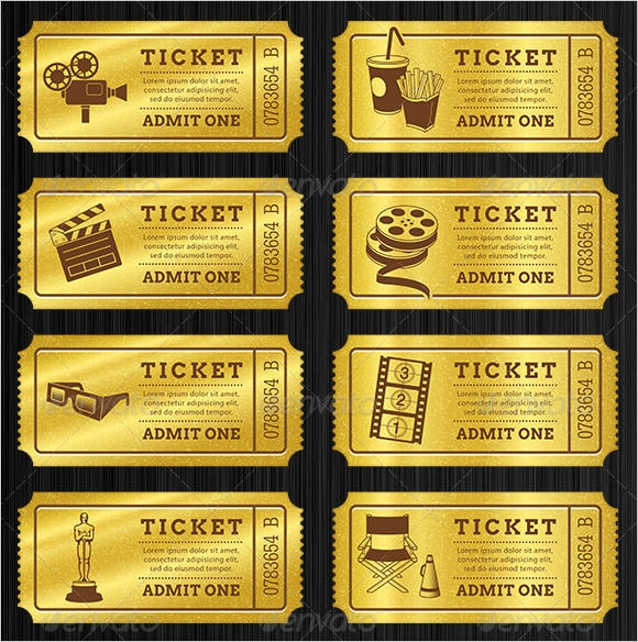 blank ticket printable