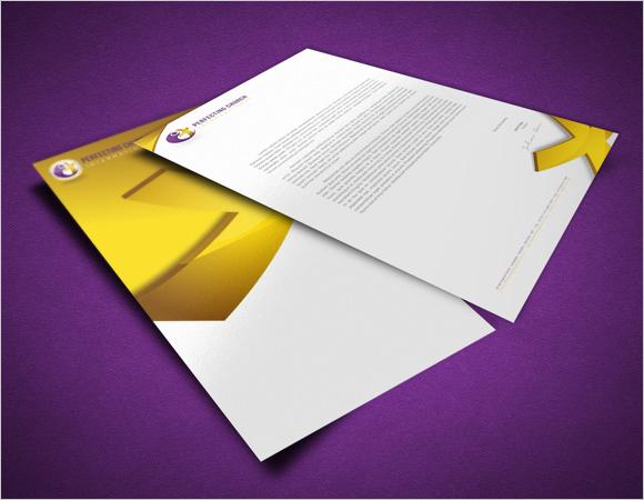 6 sample church letterheads sample templates church letterhead design spiritdancerdesigns Images