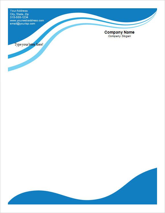 company letterhead pdf