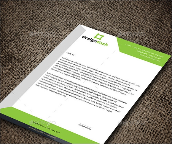 7 sample corporate letterheads sample templates