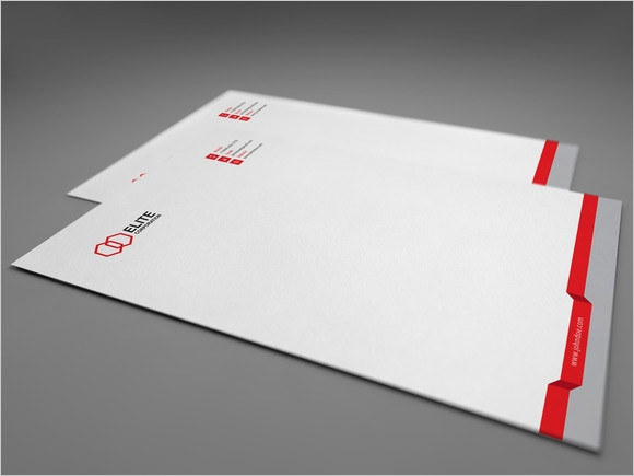 Corporate Letterhead Template 7 Premium Download