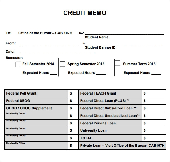 Credit memo template pdf thecheapjerseys Gallery