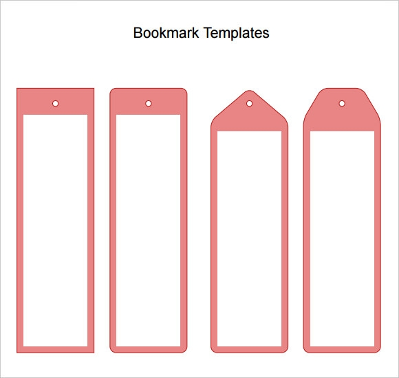 Blank Bookmark Template - 7 Download Documents for PDF , Word