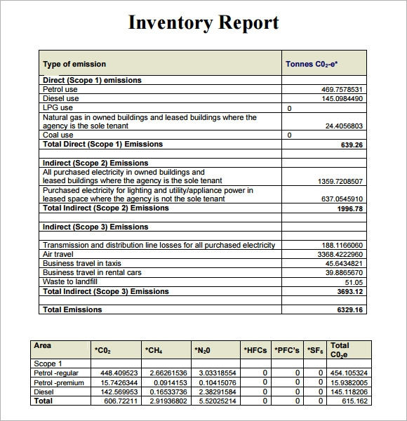 inventory management report pdf