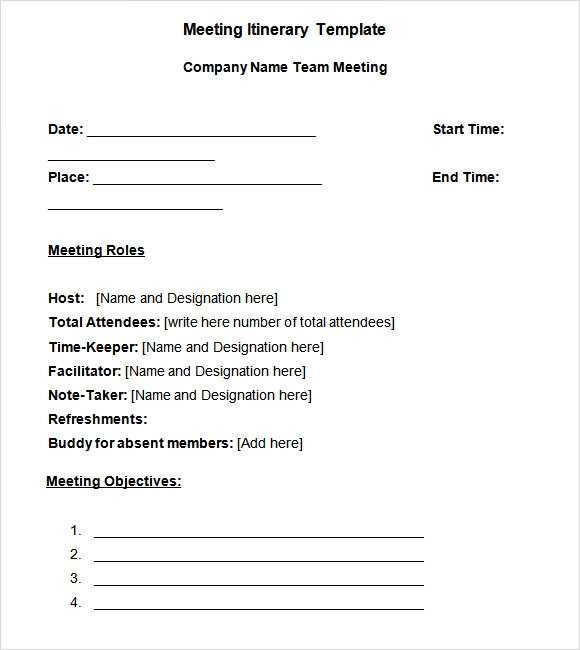 word meeting minutes template free download
