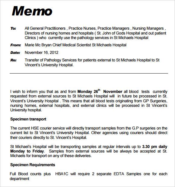 Doc638826 Sample Interoffice Memo Sample interoffice memo – Interoffice Memorandum Format